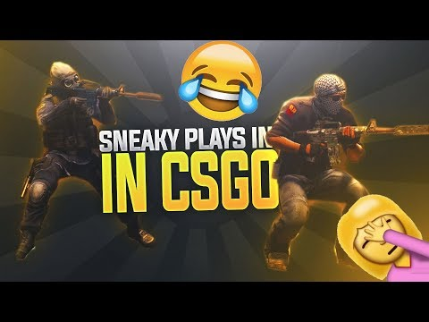 CS:GO - WHEN PROS GO SNEAKY BEAKY LIKE (PATIENT&SNEAKY PLAYS)