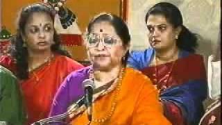 Dr. Shyamala G. Bhave rendering Purandaradasara Pada - Ranga Baro Pandu Ranga Baro