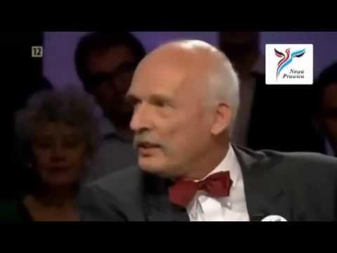 Janusz Korwin-Mikke vs Lewaki 2 (Faszyści, Naziści, Komuniści, Socjaliści, Feministka, TVN, TVP)
