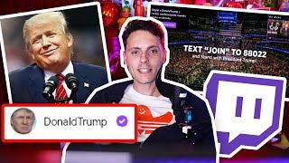 Donald Trump tiene Canal en Twitch-Wefere NEWS