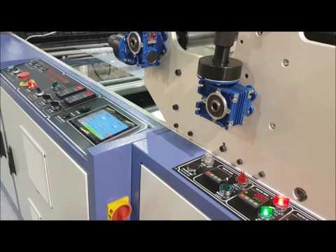 BS-1100 5L Multi-Lines Bottom Sealed Bag Making Machine at Taipeiplas 2016 in Taiwan