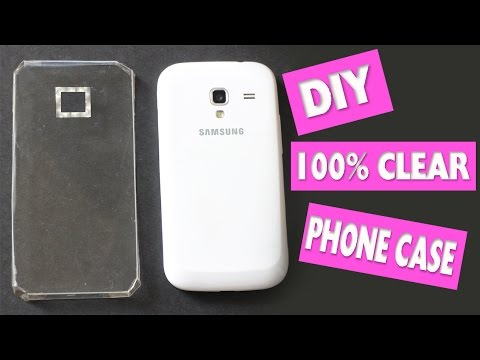 Easy DIY 100% Transparent Phone Case + Skins