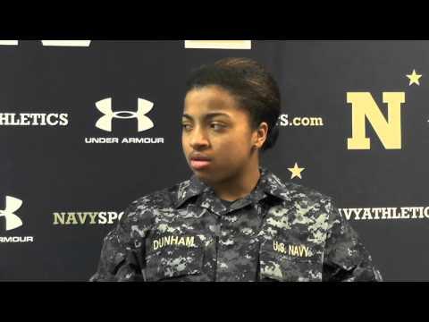 Navy Sports Magazine - Women's Basketball Taylor Dunham (2-9-16)