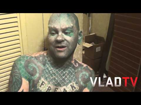 Meet The Lizard Man
