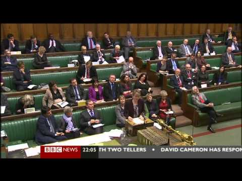 PM Cameron Wins Gay Marriage Vote, & Loses His Own Party's Support!