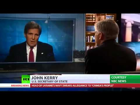 John Kerry NBC News Crimea