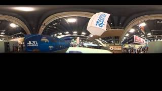 Kodak PIXPRO SP 360 spherical video (half dome) at GDC 2015