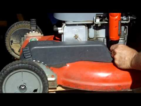 Lawn Mower Repair Scotts Briggs and Stratton 6.0 Self Propelled Problem Part 2 of 4
