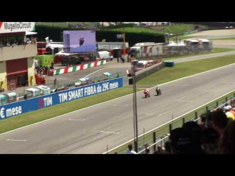 MotoGP 2016 Mugello - Lorenzo Marquez Battle last lap