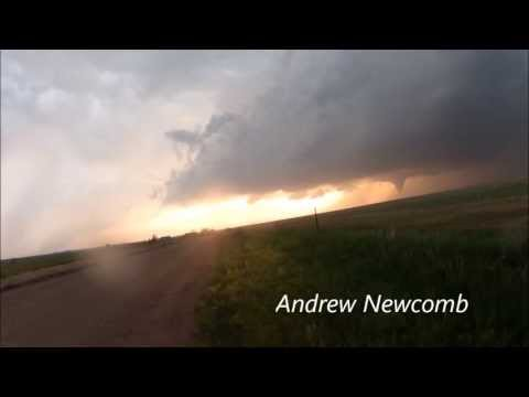 Rozel Kansas Tornadoes (May 18th, 2013) - Time Lapse