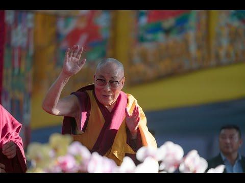 Далай-лама дарует посвящение Калачакры в Бодхгае