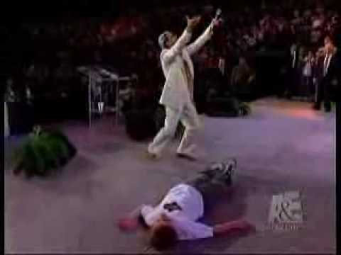Benny Hinn: Let The Bodies Hit The Floor video
