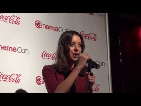 CinemaCon 2013: Press Conference with Aubrey Plaza