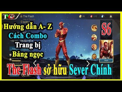 Liên quân mobile The Flash Hiệp sĩ thần tốc | hướng dẫn Combo lên trang bị và bảng ngọc thumbnail