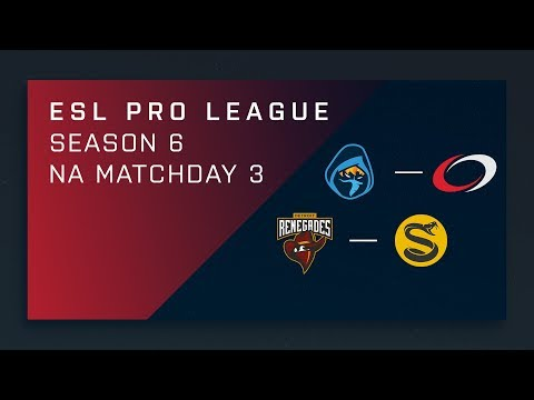 CS:GO - Renegades vs. Splyce [Train] Map 2 - Day 3 ESL Pro League S6 - NA 2nd Stream