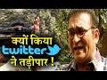 Twitter Slammed Singer Abhijeet Again : New Account got Deleted too !