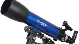 How to setup the Meade Telescope (HD & Fully Closed Captioned)