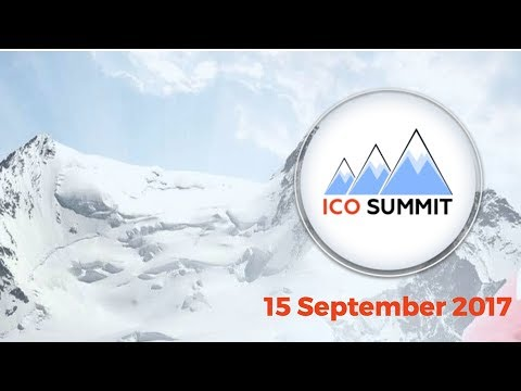 ICO-Summit 2017 - Morning Session