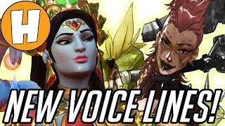 Overwatch - NEW Junkertown Queen Voice Lines + Hindi Symmetra and Junkrat! | Hammeh