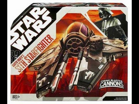 Darth Vader's Sith Starfighter 30th Anniversary HD Ship Review | www.flyguy.net