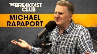 Michael Rapaport Talks Trash On Trump, LeBron James & Jay-Z's 4:44