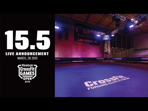 Live Announcement of Open Workout 15.5