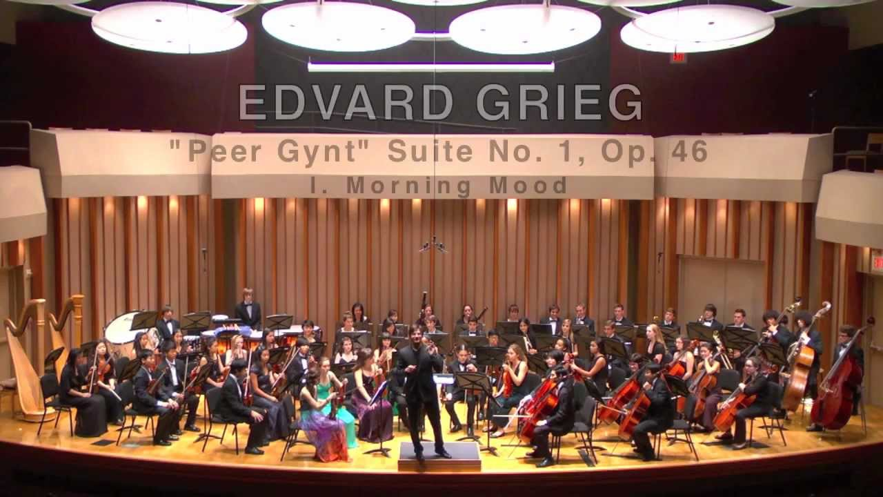 Edvard Grieg Peer Gynt Suite Morning Edvard Grieg 39 s Quot Peer Gynt Quot
