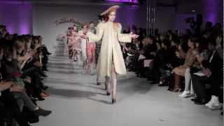 ZANDRA RHODES - F/W 2012 FASHION SHOW BY THE UNTITLED MAGAZINE