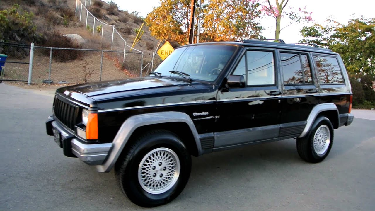 1995 Jeep Cherokee Country 4x4 Manual 5 Speed Sport Xj Sj