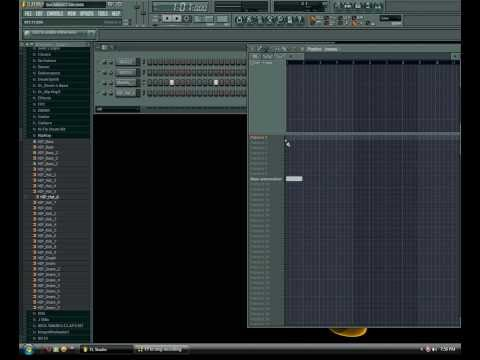 Tutorial: Fl Studio 8 Basic For Making Rap Beats video
