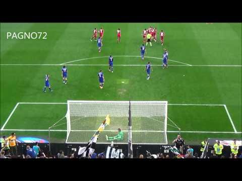 JUVENTUS Vs Cagliari  Goal Rossettini 1-1