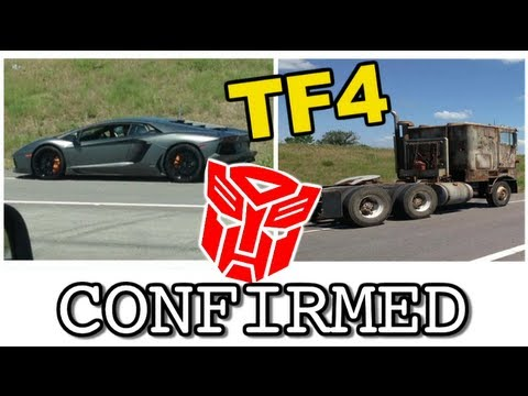 CONFIRMED Lamborghini is an Autobot. No Stunticons in Transformers 4 - [TF4 News #23]