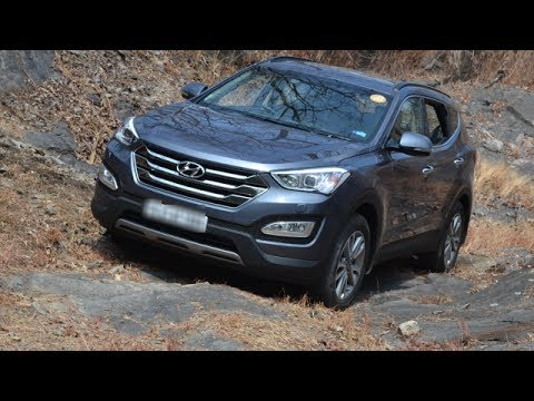2014 Hyundai Santa Fe Review- Ride, Handling, Features, Performance,Space, Comfort, Mileage And More
