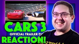 REACTION! Cars 3 Official Trailer #1 - Owen Wilson Movie 2017