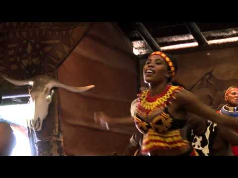 Lesedi Cultural Village in South Africa - Traditional dances