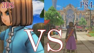 Top 10 Differences Between the PS4 and 3DS Versions of DQ XI