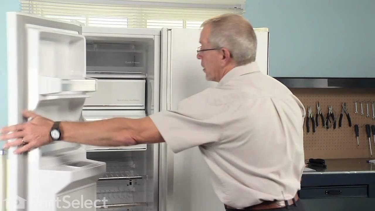 Refrigerator Repair Replacing The Ice Bin Auger Drum