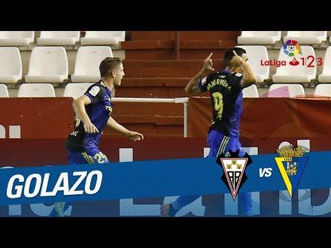 Golazo de Dani Romera (1-1) Albacete BP vs Cádiz CF