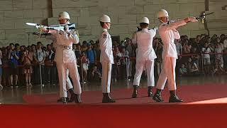 Change of Guards in Chiang Kai Shek Memorial Hall - Taipei, Taiwan