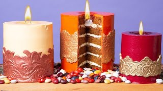 Candle Cakes You Can Light ON FIRE | How To Cake It with Yolanda Gampp
