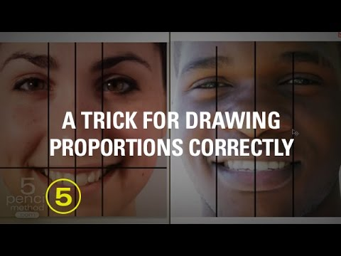 Draw a Face Accurately: A Simple Trick You Can Try Today!