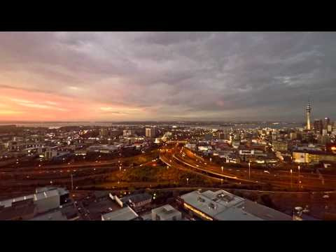 Drone UAV Aerial Time-lapse @ Auckland City - www.realityvirtual.co