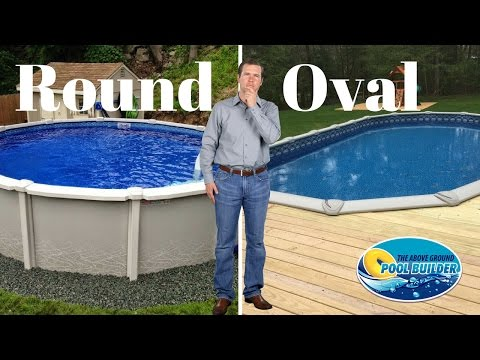 🔵Round vs Oval Above Ground Pools