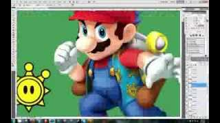 Smash Photoshop - Mario Sunshine