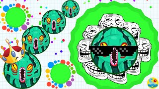 Agar.io Trolling Team On Party Mode! (Agario Funny Moments)