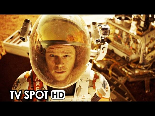 THE MARTIAN ft. Matt Damon TV Spot 'Never Stop Fighting' (2015) HD
