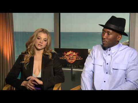 Hunger Games: Mockingjay's Natalie Dormer & Mahershala Ali on Jennifer Lawrence: 'She's Naughty'