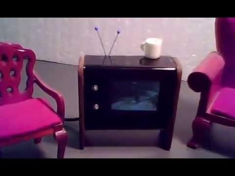 Working Dollhouse TV #3