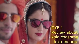 Kala Chashma|Bar Bar Dekho|Full song |Funny Review|Full HD