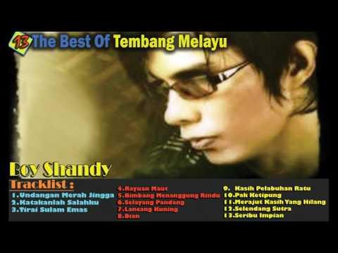 14 The Best Of Tembang Melayu - Boy Shandy - Tembang Melayu Terpopuler Th.90s